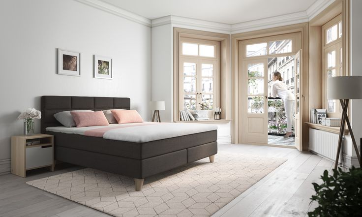 We love the clean Svane Saga! #svaneseng #svanesaga #interiør #soverom #bedroom #scandinavian