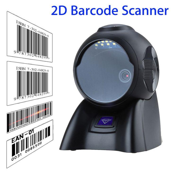 YK-MP6600 2D Omni-Directional Image Bar Code Scanner Desktop Automatic Platform Scan Reader 2D QR Code Scanner #Affiliate