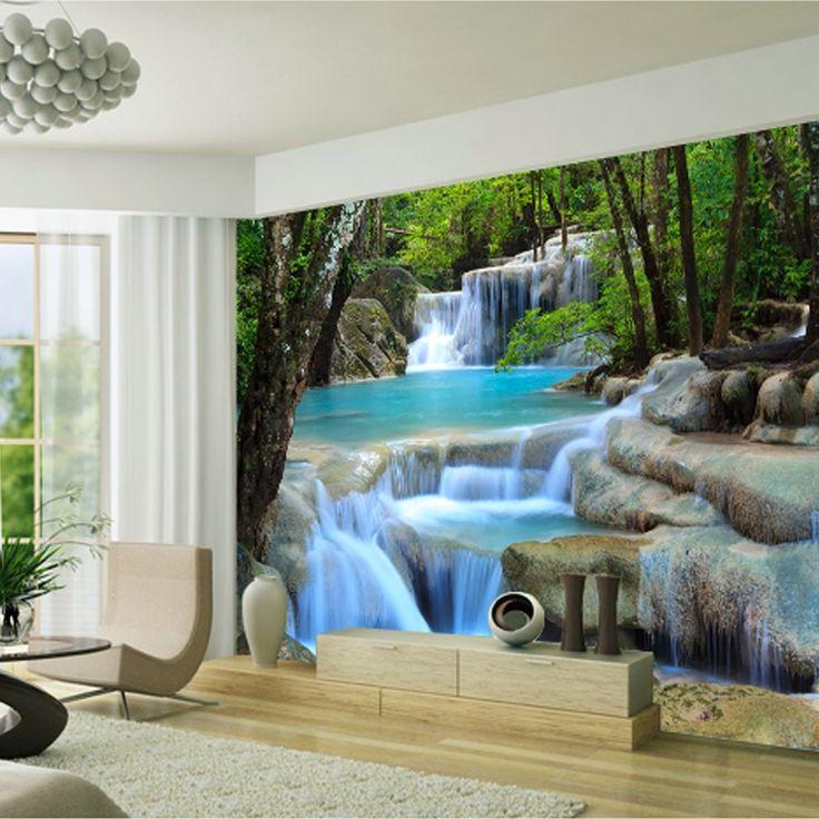 best 25 3d wallpaper ideas on pinterest modern wallpaper industrial wallpaper and natural. Black Bedroom Furniture Sets. Home Design Ideas