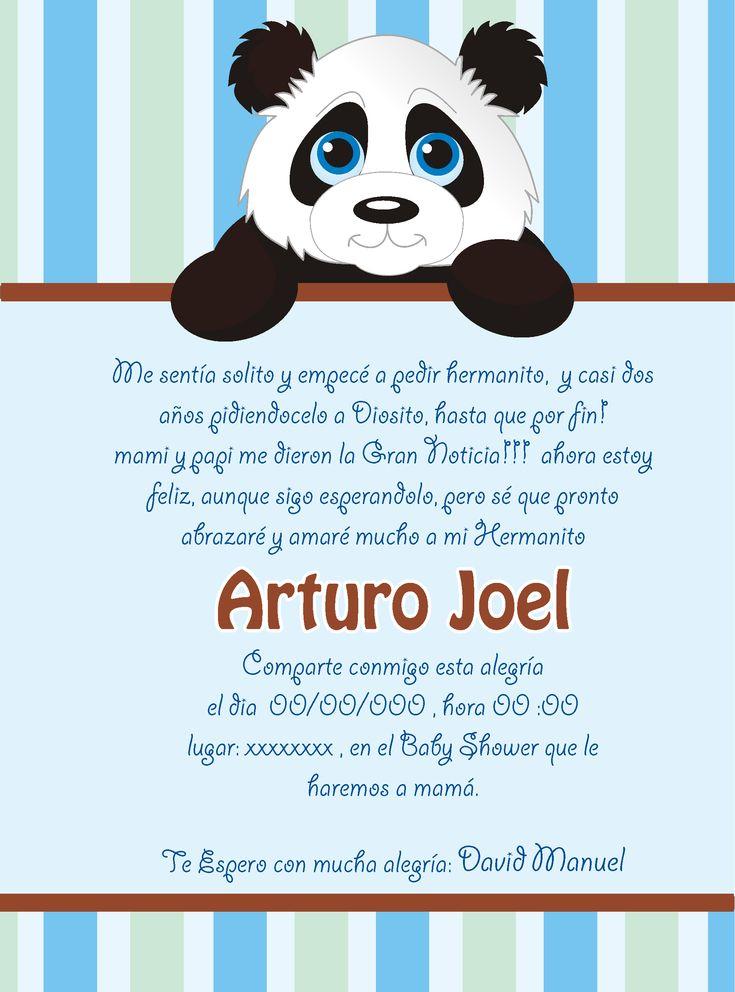 Tarjeta De Invitación A Baby Shower Niño Arturo Baby