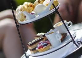 """Rosie Lea Tea House  Bakery is perfect for Afternoon Tea in Brockenhurst especially if you have a """"free from"""" diet... a short walk from Daisybank Cottage New Forest"""