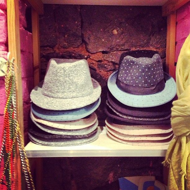 Cold noggin on this beautiful yet chilly morning? Don a hat! These beauties are from @quickbrownfoxclothing on Brunswick st, wear them casually with jeans and a blazer or dress it up with a structured pastel pant suit!