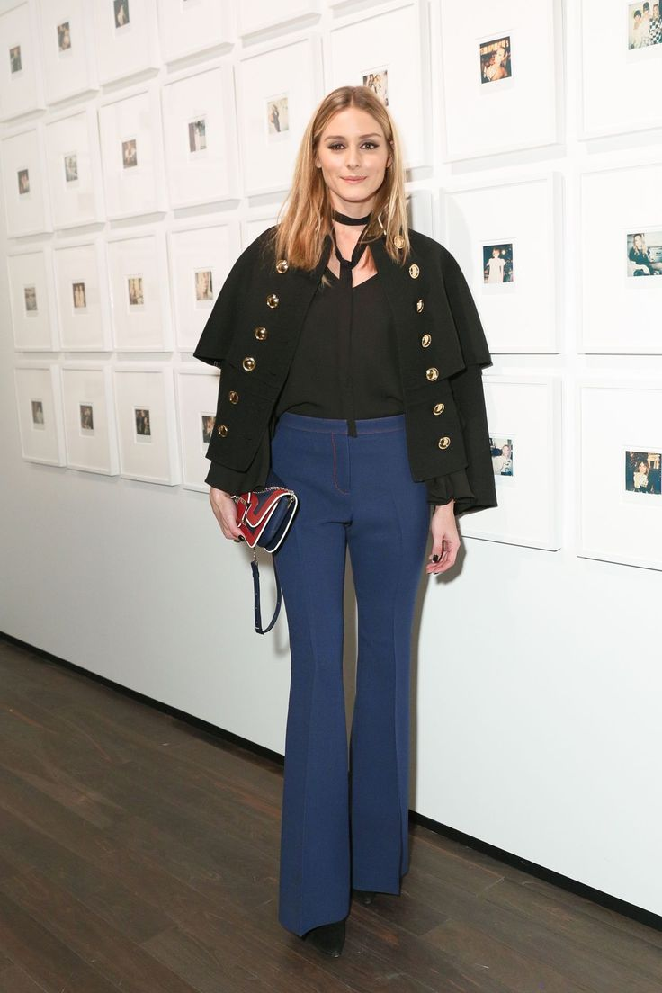 Olivia Palermo in Burberry - Letters to Andy Warhol opening event, New York – November 14 2016