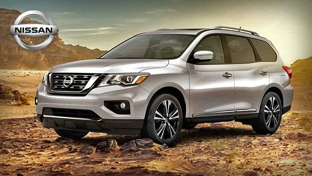 2019 Nissan Pathfinder Midsize Family Suv With A Powerful V6