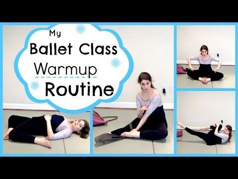 My Ballet Class Warmup Routine | Kathryn Morgan - YouTube