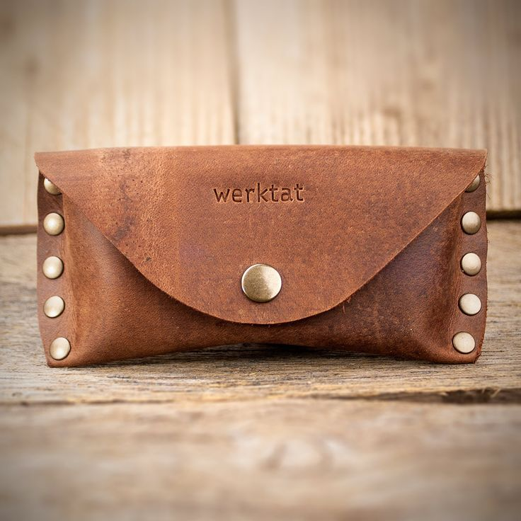 Sichtschutz the glasses case Leather WT0315 от werktat на Etsy