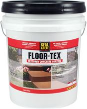 Seal Krete Floor-Tex Floor-Tex is a waterborne, acrylic, textured coating providing a