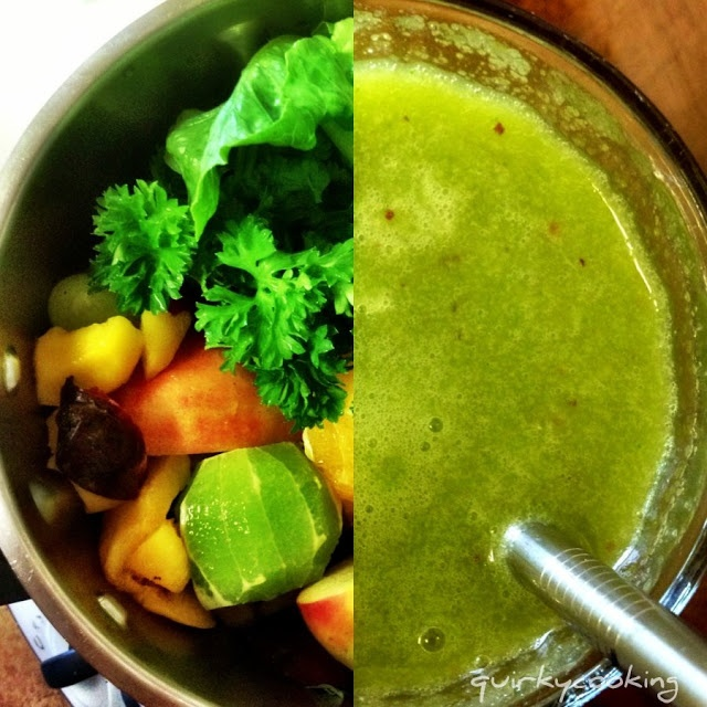 Quirky Cooking: Green Smoothies & Boost Juices... and a Giveaway!