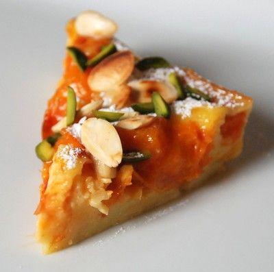 Clafoutis abricots, amandes, pistaches | Cuisine plurielle