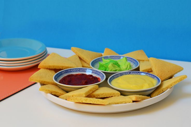 Party Snack: Chip and Dip Inspired Sugar Cookies and Sweet Dips