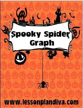 FREE Spooky Spider Graphing Activity - The Lesson Plan Diva - TeachersPayTeachers.com