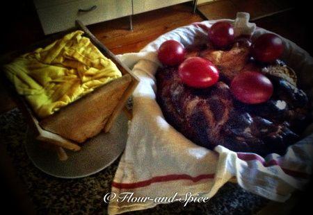 Pasha mould and Kulitsa Bread