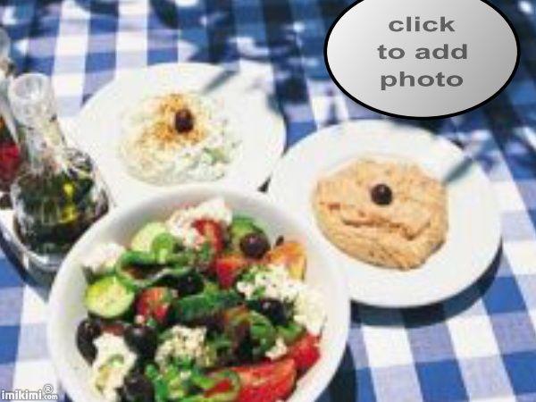 Greek food  #hummus #salad #greek #food #foodphotography