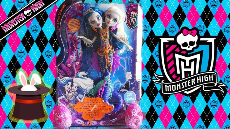 Review Hydra de Monster High con huevos kinder de Barbie | Juguetes de Monster High en español