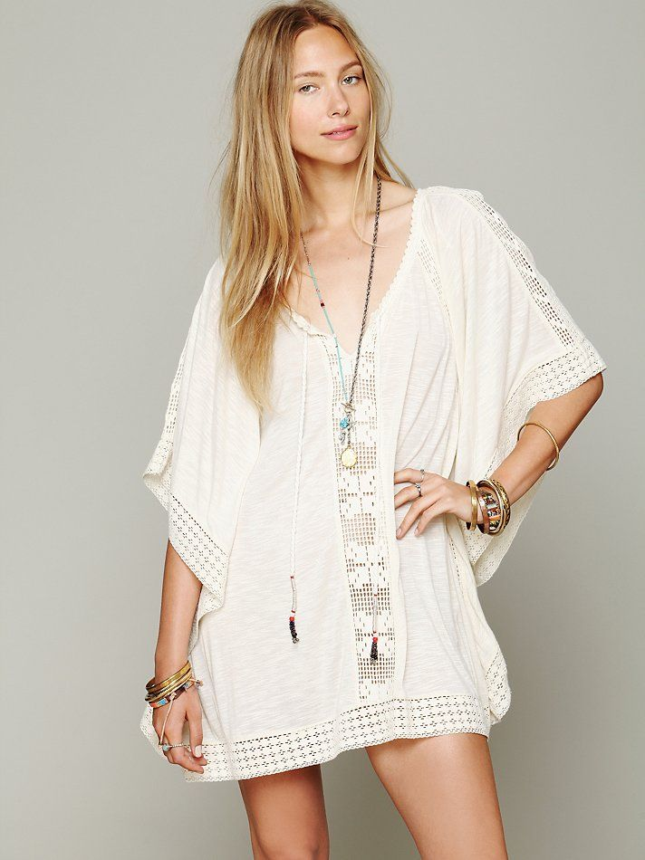Free People Rave On Tunic at Free People Clothing Boutique