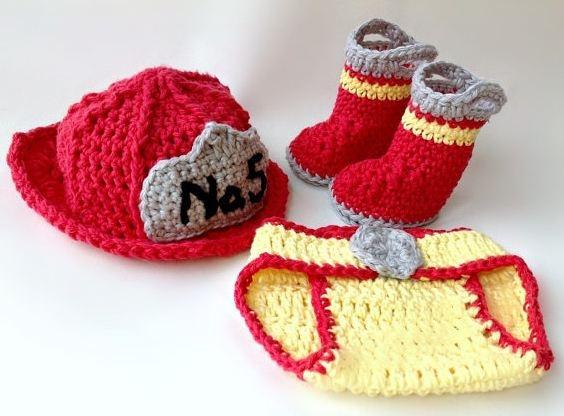 Crochet Fireman Set - Coupon Code