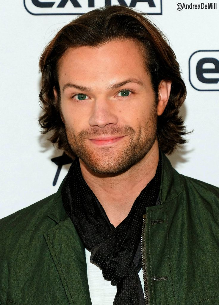 Jared Padalecki. His eyes look so green in this pic!