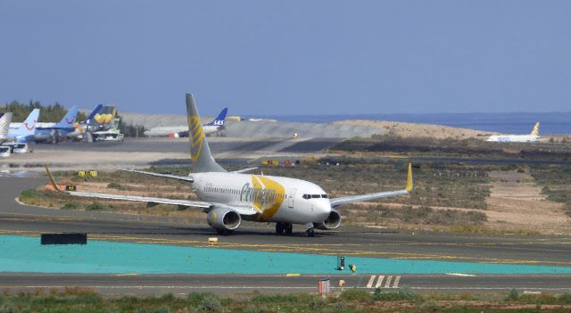 Canary Islands Spotting....Spotters..Aviones : OY-PSG - Boeing 737-7Q8   Primera Air Scandinavia ...