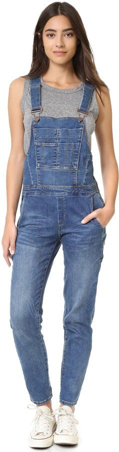 Wear these Blank Denim Overalls ($108) with your favorite sneakers.