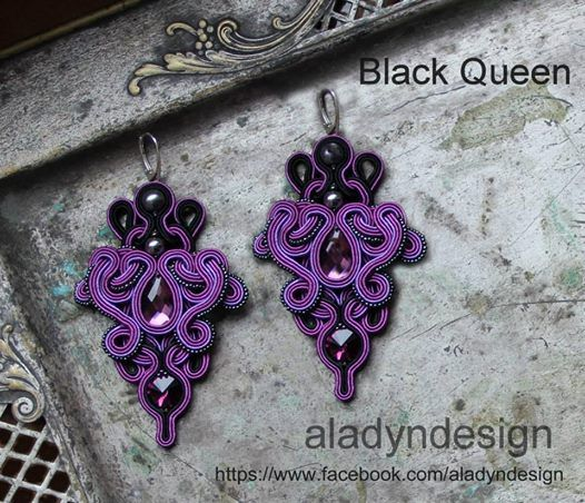 My soutache earrings https://www.facebook.com/aladyndesign http://aladyndesign.blogspot.com/