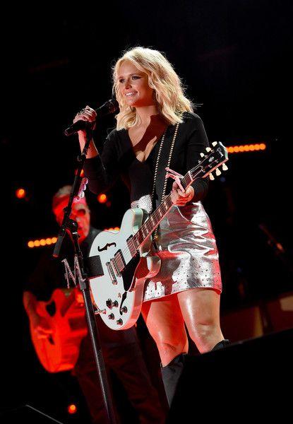 Miranda Lambert Photos Photos - Singer-songwriter Miranda Lambert performs onstage during 2016 CMA Festival - Day 1 at Nissan Stadium on June 9, 2016 in Nashville, Tennessee. - 2016 CMA Music Festival - Day 1