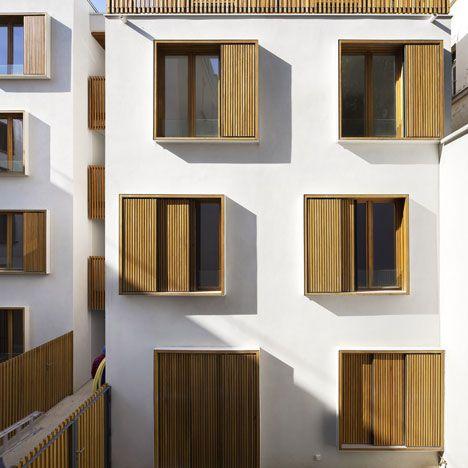 social housing, the European (better) way - Passage de la Brie, Explorations Architecture