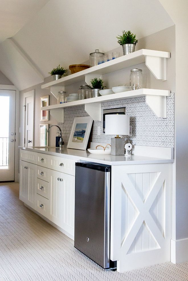 Ssecond Floor Mini Kitchen Cabinet Paint Color Sherwin Williams Alabaster Timber Frame