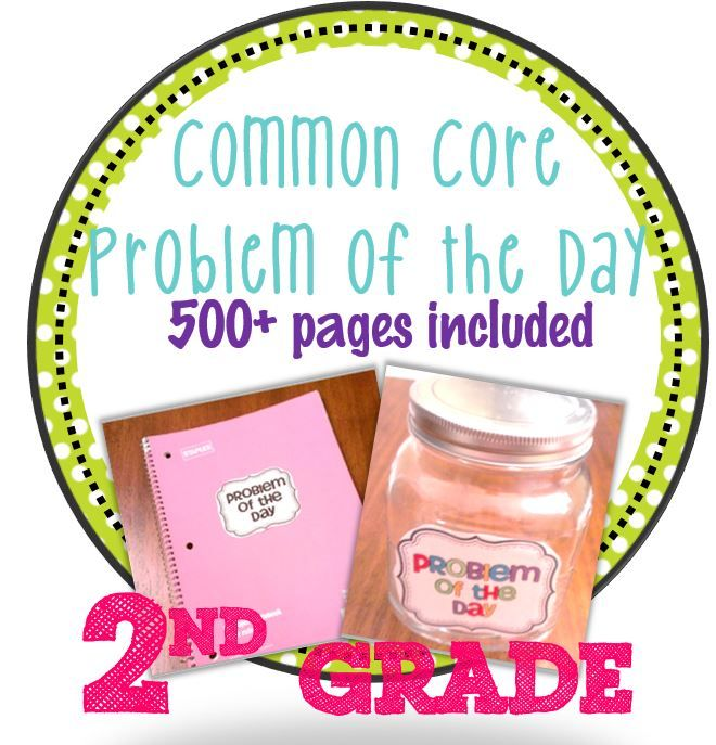 Common Core must have! Super Value!  Problem of the day CC aligned {math}.  500+ pages of material included.  Also has whiteboard version for those with interactive whiteboards!$