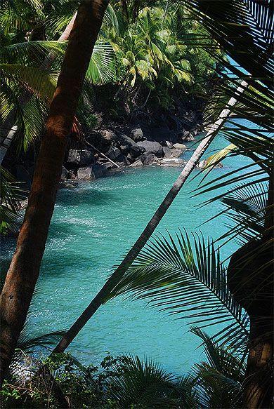 Guyane, Côte atlantique, Îles du Salut, Île Saint-Joseph.