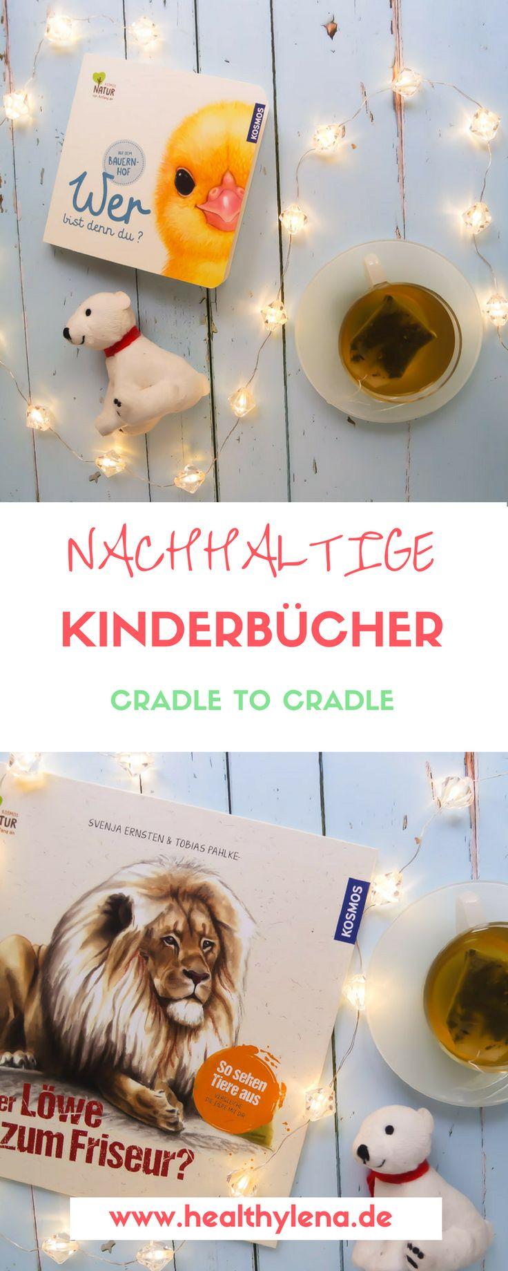 (Anzeige + Gewinnspiel) Früh übt sich – das gilt auch für das Thema Nachhaltigkeit. Um die Kleinen ganz spielerisch an die Thematik heranzuführen, sind die Naturkinderbücher vom KOSMOS Verlag eine tolle Wahl. Warum hier nicht nur die Inhalte echt lesenswert sind, sondern auch das Konzept der Herstellung ganz genau durchdacht ist, verrate ich euch jetzt auf healthylena.de :) Außerdem gibt es auch etwas zu gewinnen! Cradle to Cradle für Kids!