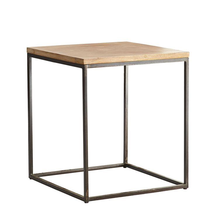 Parquet Top Side Table New Side Table Table Accent Table