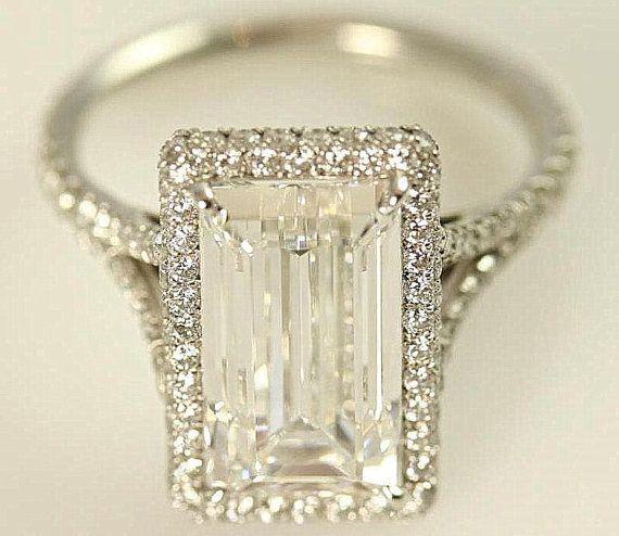 In my dreams!!!! GIA certified 5 carat Emerald Cut Diamond by BeautifulPetra, $100000.00