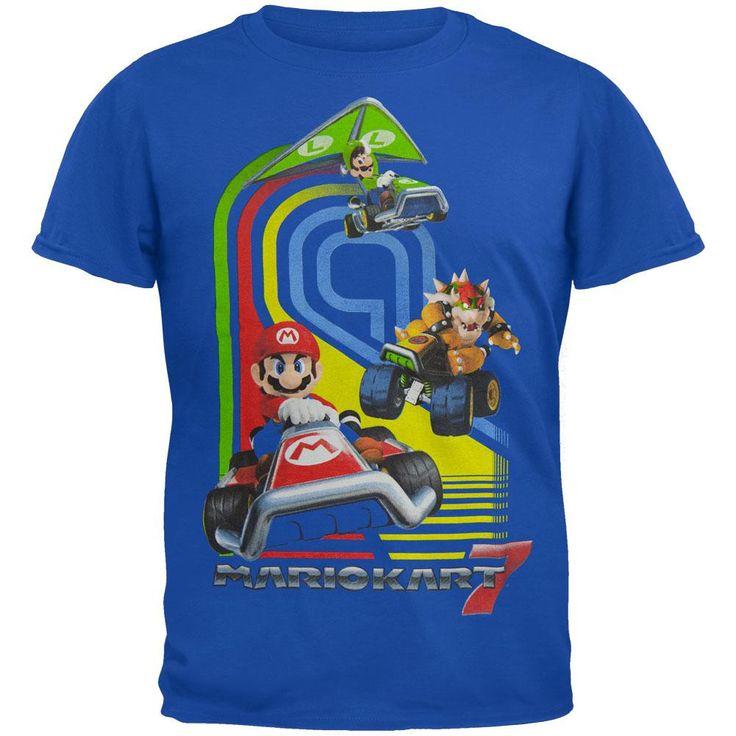 Nintendo - Mario Kart 7 All-Over Youth T-Shirt