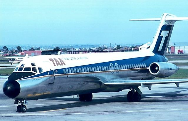 Trans Australia Airlines McDonnell Douglas DC-9-31 (VH-TJK)