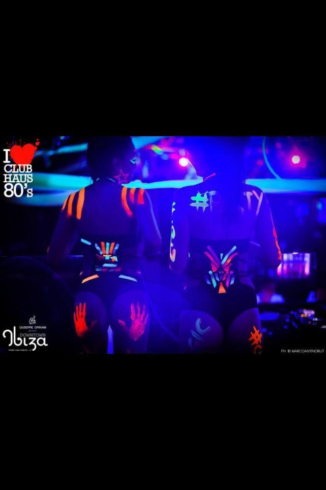 "handmade bodysuit for ""Fluo - Formentera  (Ibiza) | ClubHaus 80's"""