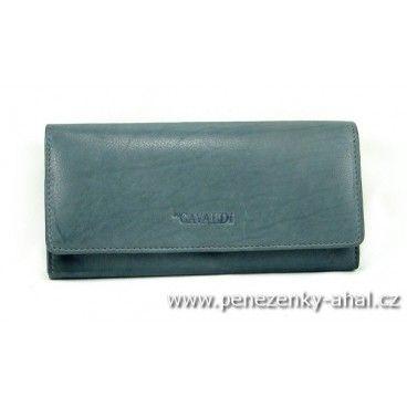 Velká peněženka dámská kožená z kvalitní kůže. Oblíbený výrobce 4U Cavaldi.