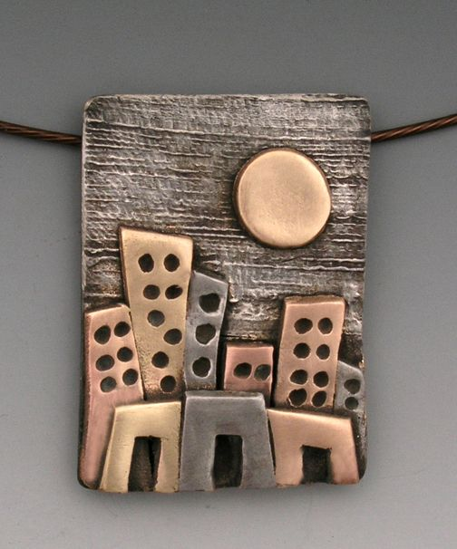 Skyline Bronze XT by Hadar Jacobson ~ Great inspiration for polymer!
