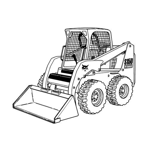 Free Printable Snow Truck Coloring Page