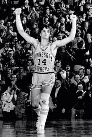 Most people will remember Flip Saunders the coach. I will always remember him as one of my childhood heroes.