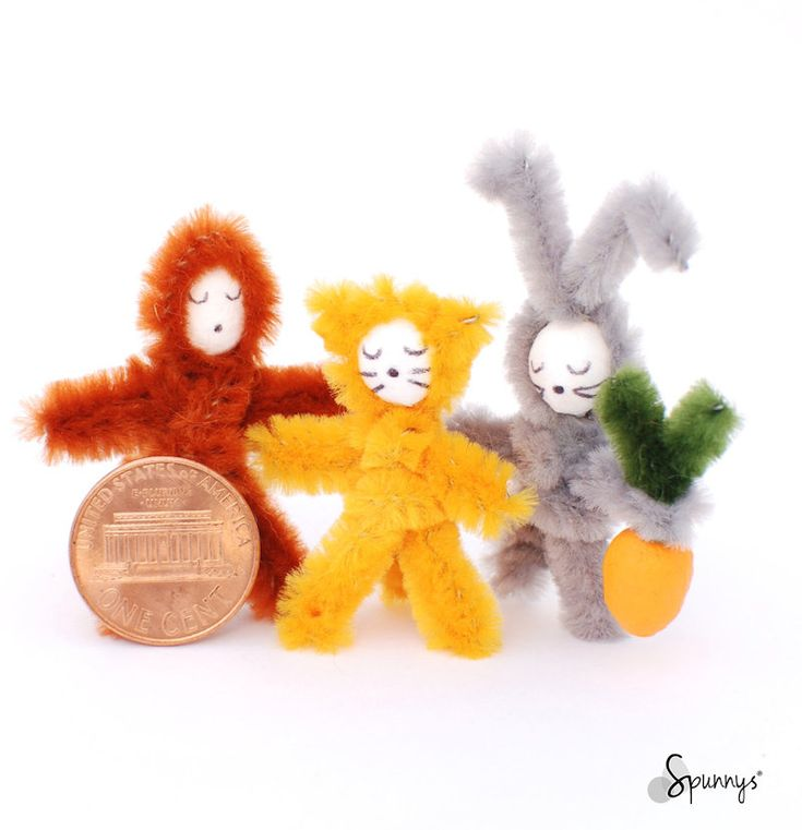 pipe cleaner animals step by step