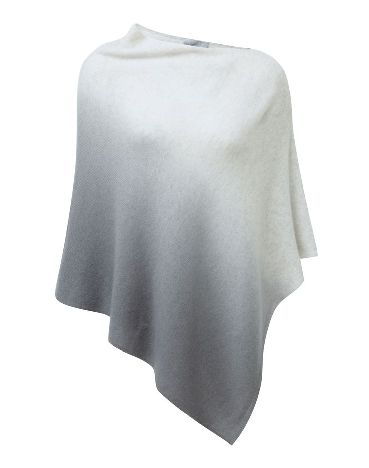40% off  until Dec 11th The all-season throw-on your wardrobe needs now, with a flattering contemporary shape in irresistibly soft gassato cashmere. You'll adore the asymmetric shape which works with your favourite relaxed and smart pieces. Cosy at home or as an easy but chic cover-up.