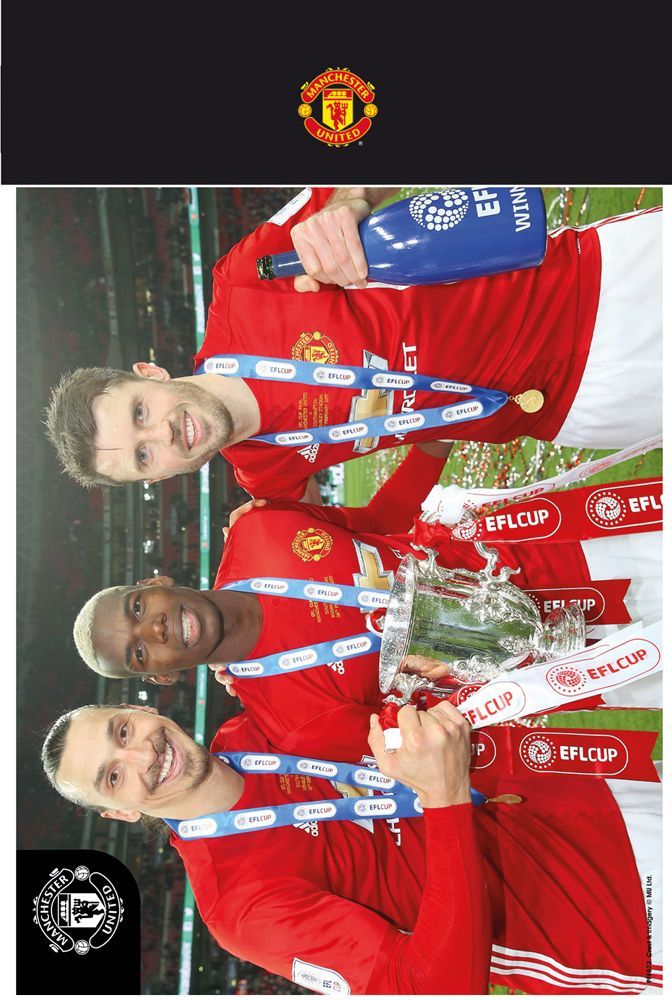 #Manchester United Trio 16/17 Bagged Photographic # (Barcode EAN=5028486381234)
