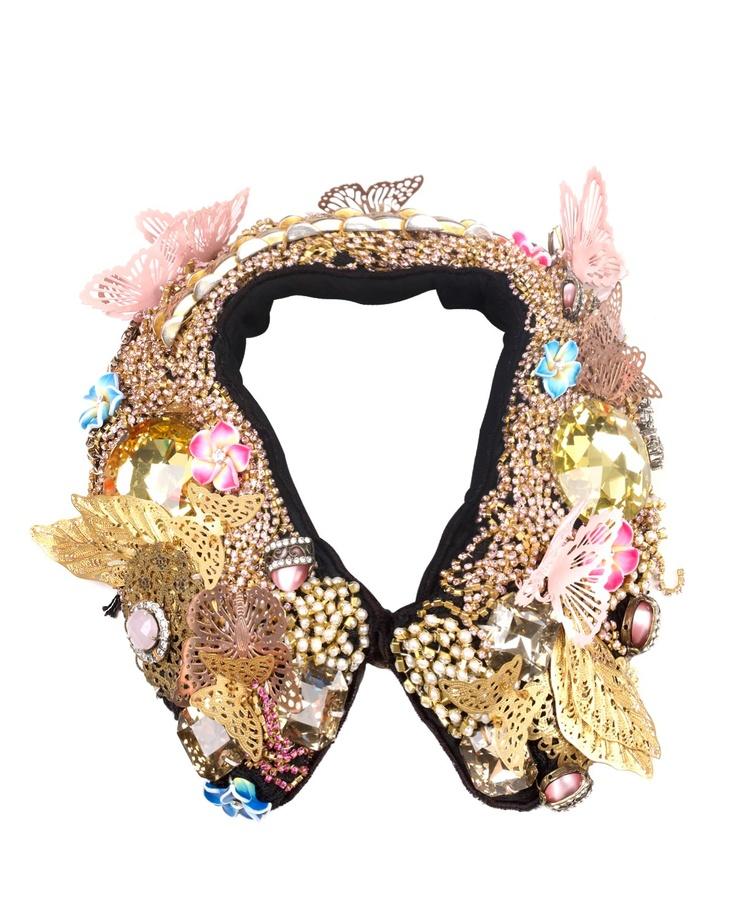 #JOANNEHYNES MARIE ANTOINETTE #CRYSTALCOLLAR  €395  SHOP:http://www.joannehynes.com/shop/collars/marie-antoinette-made-to-order/