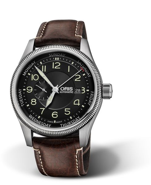 01 745 7688 4034-07 5 22 77FC - Oris Big Crown Small Second, Pointer Day - Oris Big Crown - Aviación - Colección - Oris. Relojes suizos en Hölstein desde 1904.