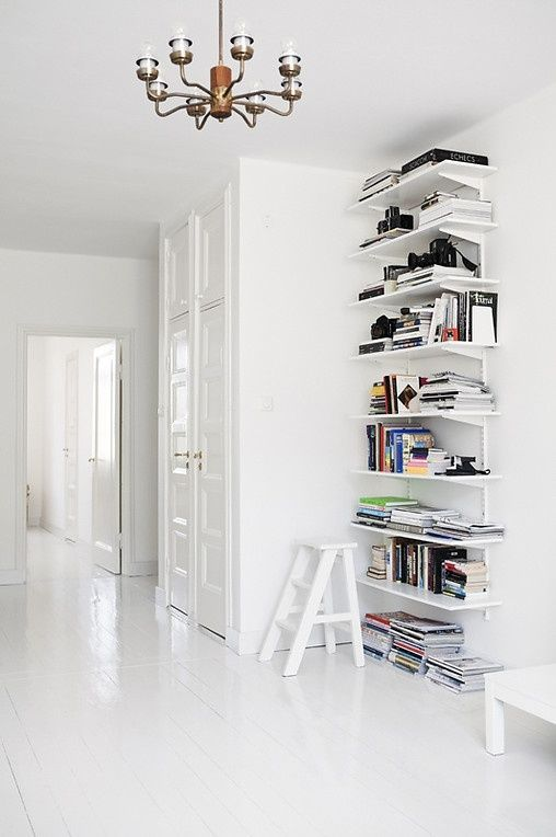 Store your books in a funny way #interior #books