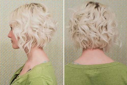 20 Very Short Curly Hair | Pink and Milk