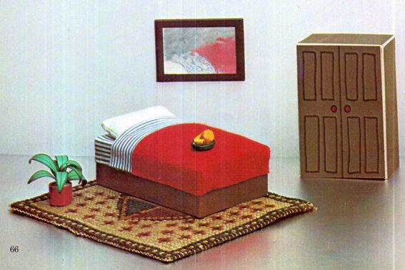 PDF Genuine Vintage 1970s CARDBOARD Dolls by TheAtticofKitsch