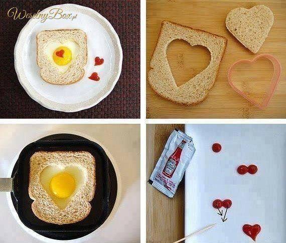 Zrób pyszne śniadanko dla ukochanej osoby!