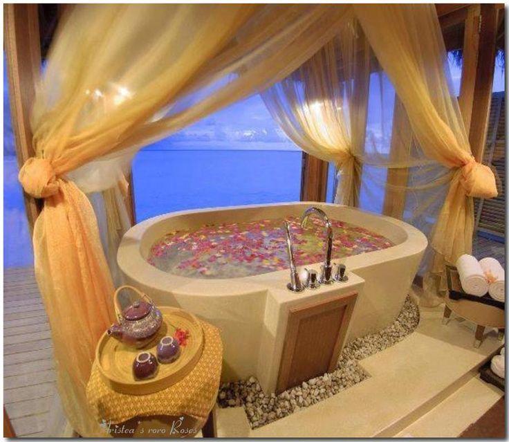 Beautiful Romantic Bathrooms 95 best romantic baths images on pinterest | romantic bath