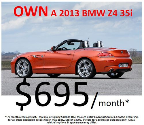 2013 #BMW Z4 for $695/month ! Come by Century West BMW, today! #studiocity #california #bimmerpost